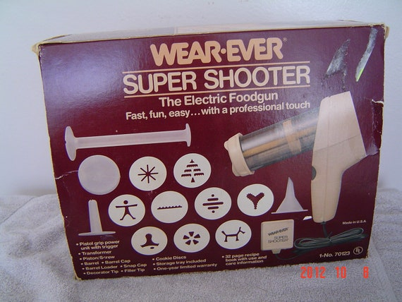 Wear Ever Super Shooter Electric Cookie Press