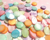 50% OFF SALE MOTHER Of Pearl Mop Pastel Beads 10-20mm 50 Pieces