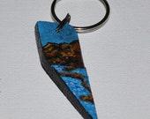 "Original Art - ""Iceland's Blue Lagoon"" - Miniature Art"