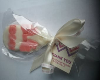 Baby Shower Chocolate Lollypops