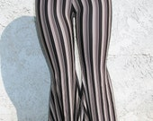 Black & White Striped T-evolution Pants Small Last One