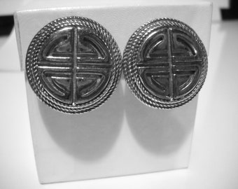 Price Reduced Vintage Givenchy clip on earrings Paris New York Sale