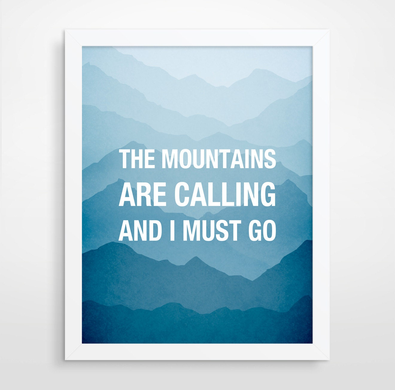the mountains are calling and i must go boyfriend gift