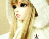 Snow Queen Knit Hood