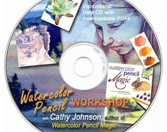Cathy Johnson's Watercolor Pencil Workshop CD