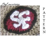 PATTERN--  SF 49ers Decal