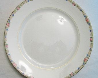 1920s National Dinner-Ware Ivory Dinner Plate Set. -Set of 3-