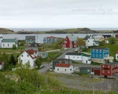 8x10 print - Town of Trinity Newfoundland Canada - a magical place to visit