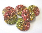 Autumn Colored Buttons
