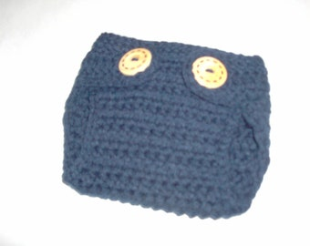 Crochet Baby Diaper Cover , Newborn Diaper Cover,Baby Boy Clothes, Newborn Photo Prop, Made To Order