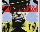 Murder By Death summer tour 2012 poster