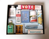 Vintage 1960s Vacation First Aid Kit