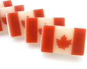Canadian Flag Inspired Soap
