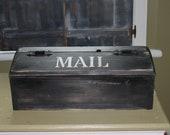 Primitive Rustic Mailbox