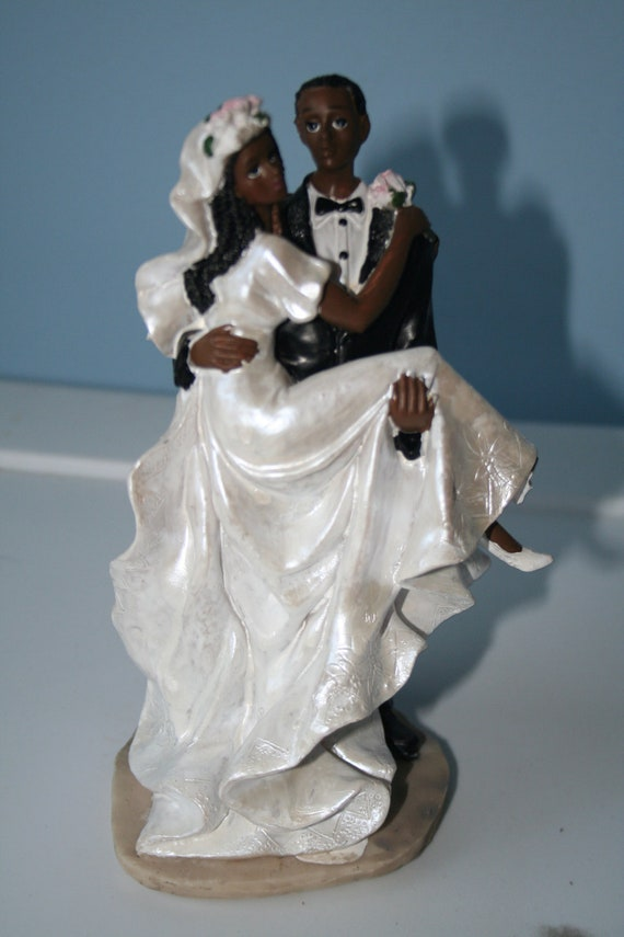 african american cake toppers for wedding cakes items similar to american cake toppers on etsy 10594