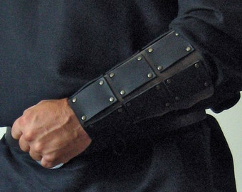 Medieval Celtic Viking Men-at-Arms Reinforced Bracers