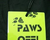 PAWS OFF Luggage Tag by Bagflags