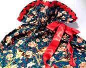 Drawstring bag elegant for travel or organizing at home-gift bag-project bag