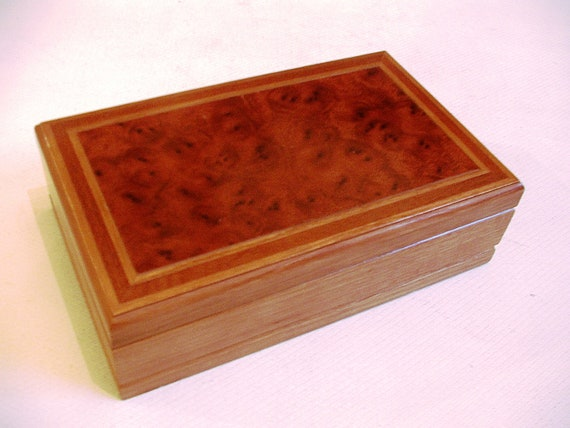 london leather jewelry box vintage wooden vintage by