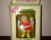 CABBAGE PATCH One of a Kind Kid Poseable Figure Janie Lou