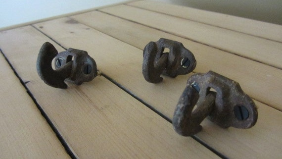 Vintage Hooks - Set of Three