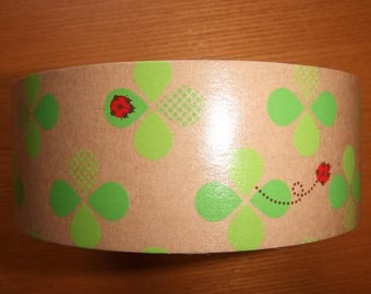 CLOVER & LADYBUGS Design Japanese Packing Tape