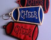 Cheer Key Fob - ChapStick Holder