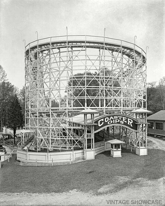 """Roller Coaster """"Coaster Dips"""" Photo"""