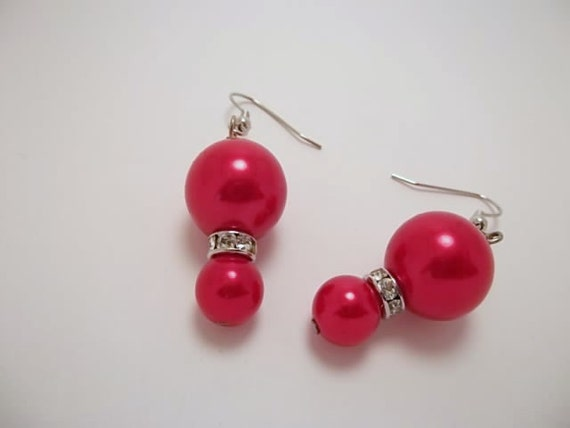 Red Holiday Earrings