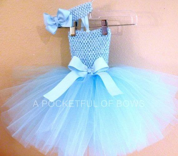 Cinderella Tutu Dress Princess Birthday Party Dress