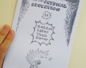 "colour-me-in zine ""(meta)physical education"""