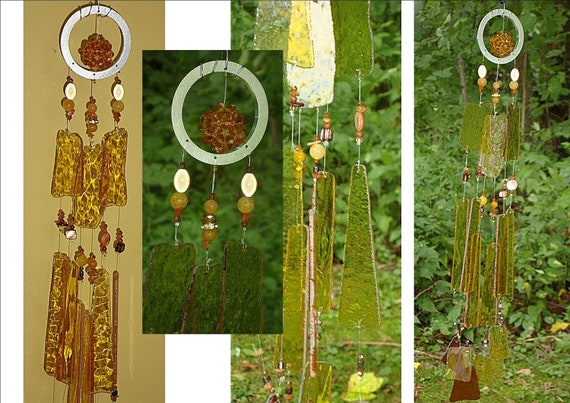 reserve listing for J.D. Golden Amber Dodecahedron Crystal Ball Harmonic Energizing Feng Shui Glass & Crystal Wind Chime