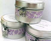 Relax With Me - Natural 100% soy candle - Lavender Fields