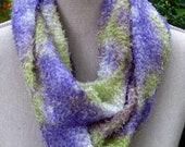 Infinity Scarf- Fuzzy Tie Dye Summer