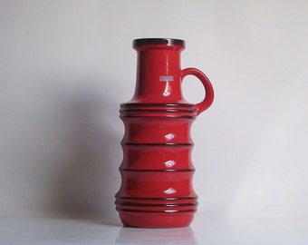 XXL West German floor vase by Scheurich (427-47)