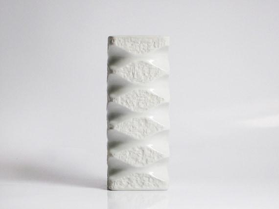 Op Art bisque vase by Kerafina / Royal Porzellan KPM (Bavaria)