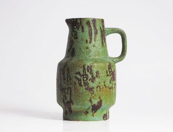 "Handled ""Contura"" Series vase/pitcher by Bay Keramik (285-17)"