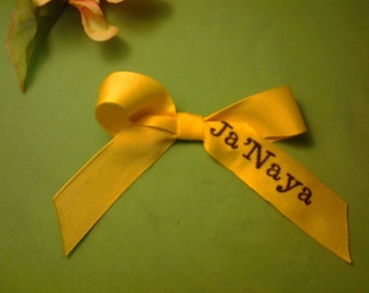 3 1/2in Full name D.I.V.A. bow