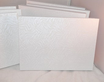 """18 Pack of Large White Swirl Cotton Filled Jewelry Presentation Gift Boxes, Display Boxes size 7 1/8"""" x 5 1/8"""" x1 1/8"""" tall"""