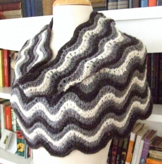 Knitting Pattern-Penelope Cowl knit cowl pattern lace cowl