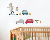 Olly Skateboarding - kid wall decal
