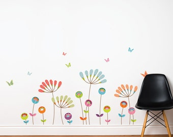 Chysanthemums - kid wall sticker