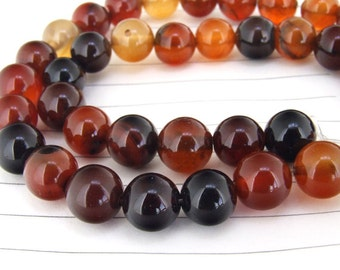 Charm  Dream Agate  Round Ball  Beads----12mm ----about 33Pieces----15inch strand--One Full Strand