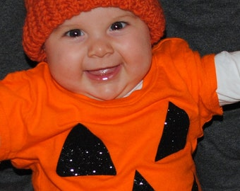 Crochet Pumpkin Hat for Baby or Child - Great for Everyday Use, as Photo Prop or for Halloween