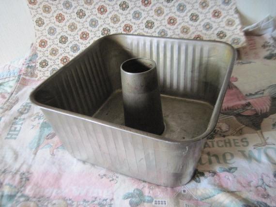 Square Aluminum Bundt Or Angel Food Cake Pan Hard To Find