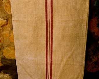 French vintage soft  grain sack. Paris