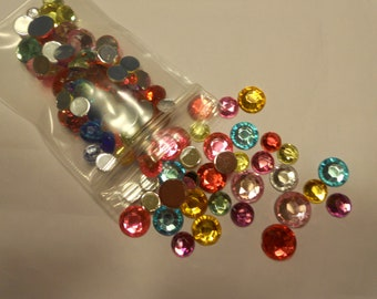 bag of  rhinestone mix, 4-8 mm