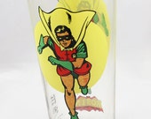 1976 Robin (moon) pepsi promo glass