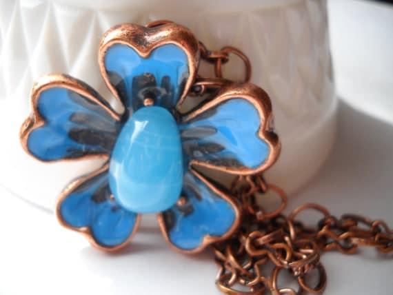 Hawaiian Dream Flower Necklace