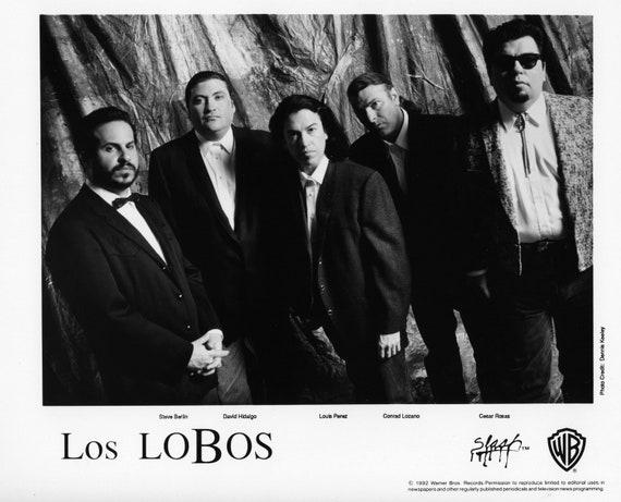 Los Lobos Publicity Photo     8 by 10 inches